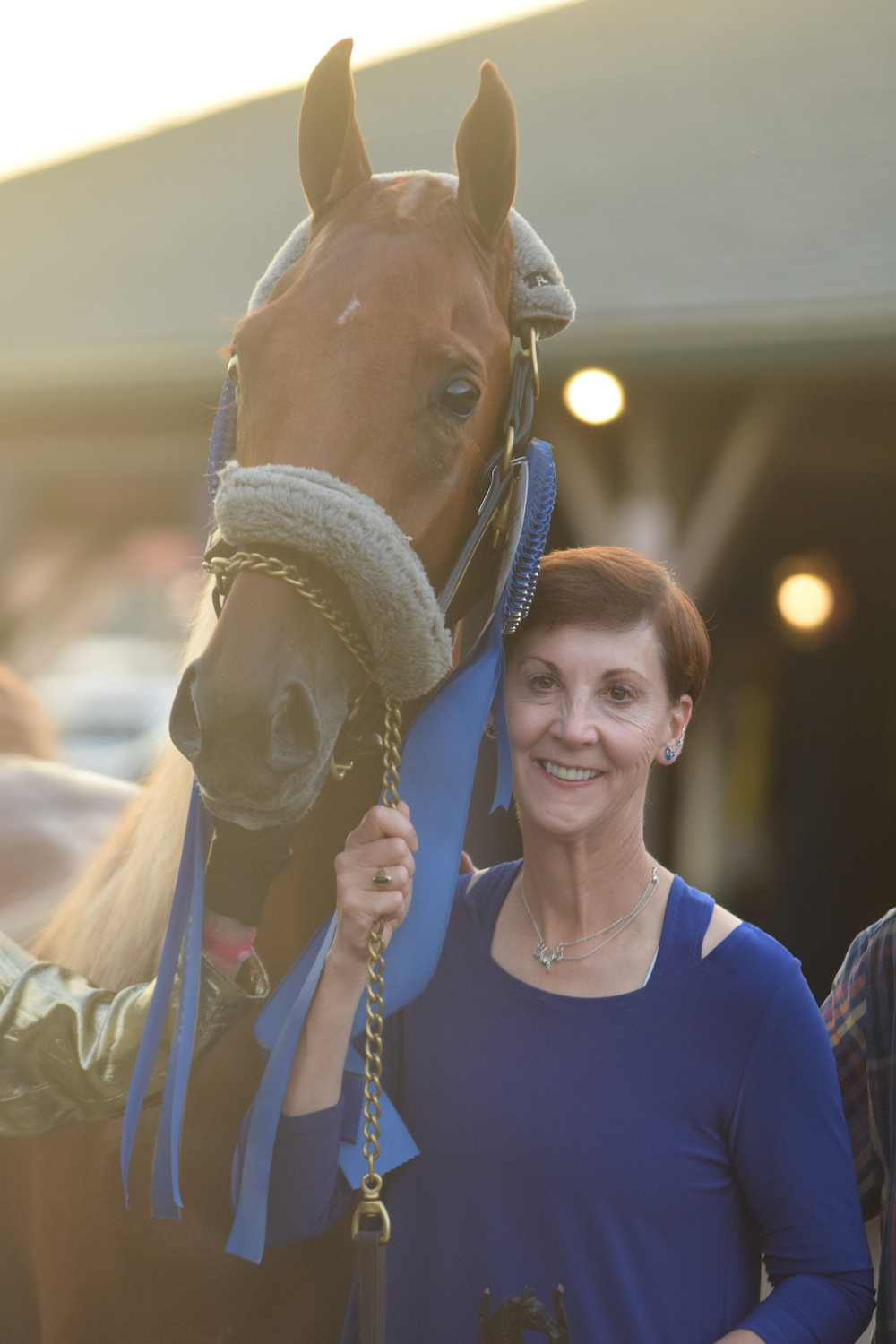 Lovely and owner Carol Reedy.