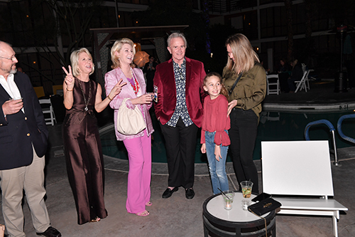 Lauren Gurton, Grace Arnold, Kevin Michael, Jacqueline Schatzberg and Megan Schatzberg enjoyed themselves at the Convention. Photo by Howard Schatzberg.