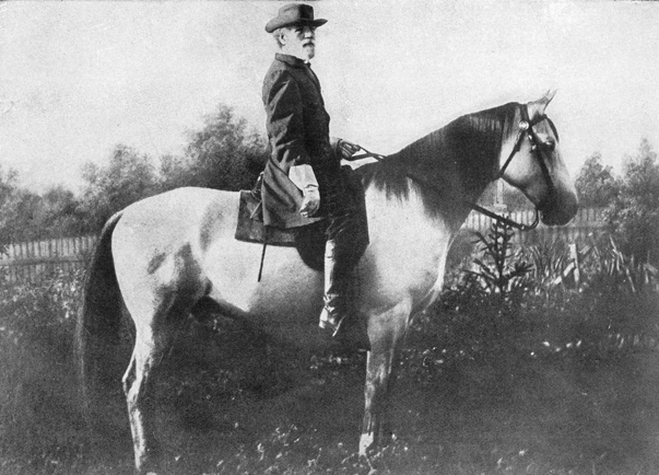 General Robert E. Lee and Traveller.