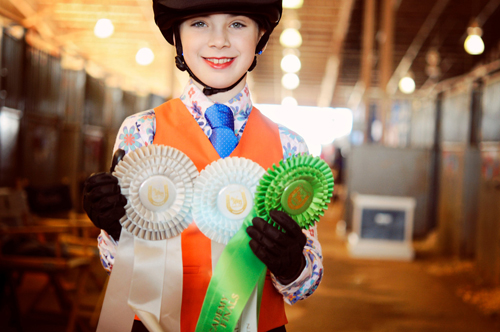Academy can be a great way to get newcomers involved in saddle seat riding.