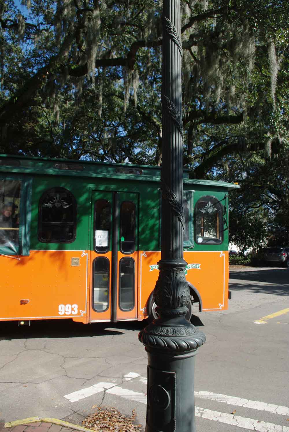 Free trolley tours around the city were available to convention guests