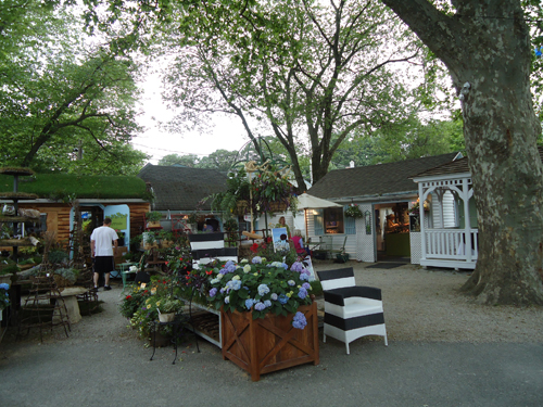 The shops at the Devon Horse Show. Photo by Allie Layos.