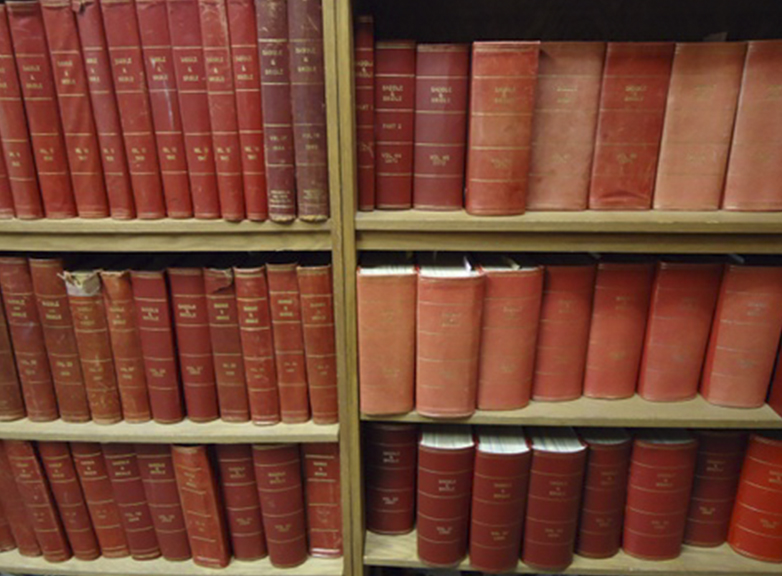 The bound volumes in our library stretch all the way back to Saddle & Bridle's earliest days.