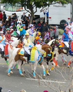 What It's Like To Ride A Saddlebred In The Rose Parade